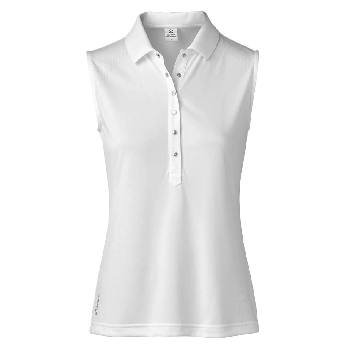 DAILY MINDY SLEEVELESS GOLF POLO SHIRT DAILY LADIES POLOS DAILY