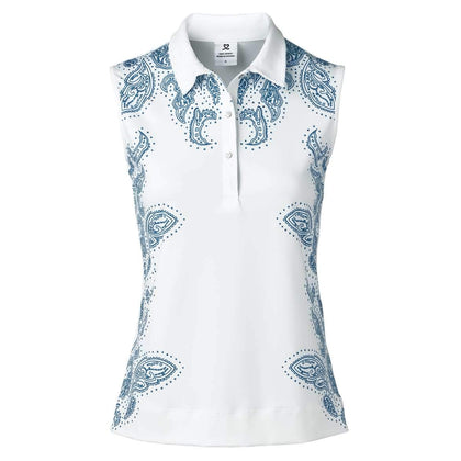DAILY PAMMY SLEEVELESS GOLF POLO SHIRT DAILY LADIES POLOS DAILY