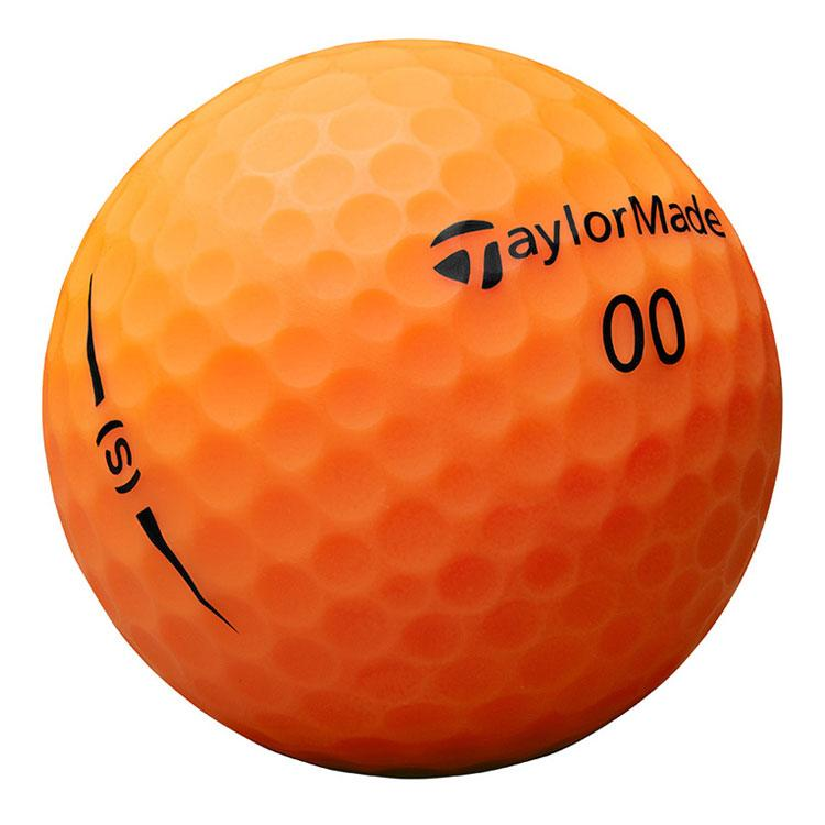 TAYLORMADE PROJECT S MATTE ORANGE GOLF BALLS 12PK TAYLORMADE BALLS TAYLORMADE
