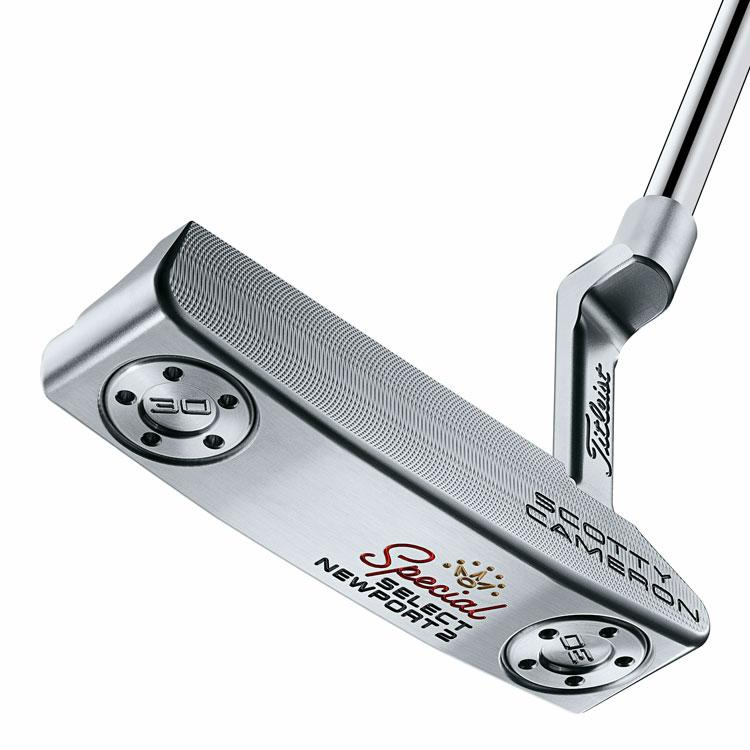 SCOTTY CAMERON SPECIAL SELECT NEWPORT 2 GOLF PUTTER RH SCOTTY CAMERON SELECT PUTTERS TITLEIST