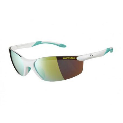 Sunrise Breakout White Sunglasses SUNGLASSES SUNWISE