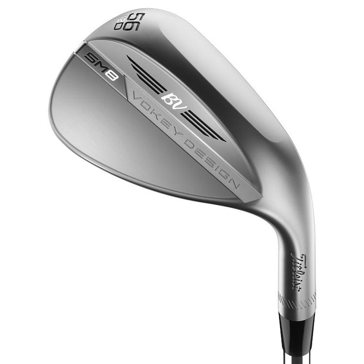 TITLEIST VOKEY SM8 TOUR CHROME GOLF WEDGE STEEL LH TITLEIST VOKEY SM8 TOUR CHROME WEDGES TITLEIST