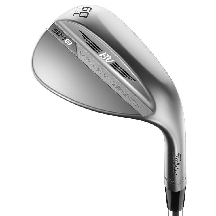 TITLEIST VOKEY SM8 BRUSHED STEEL GOLF WEDGE STEEL RH TITLEIST VOKEY SM8 BRUSHED STEEL WEDGES TITLEIST
