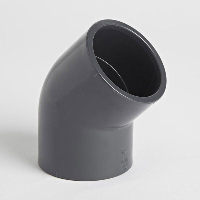 PVC 45 Degree Elbow Plain