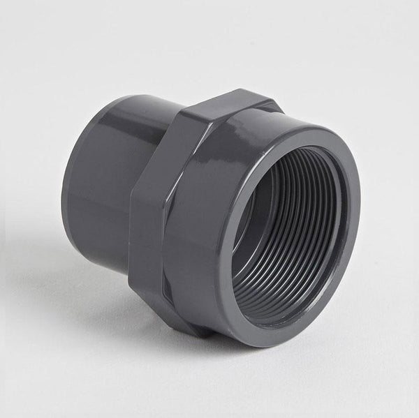 PVC Adapter Socket Female Threaded Metric