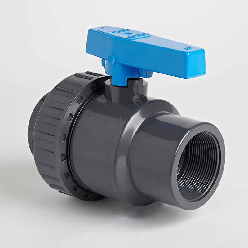 PVC Single Union Inch Standard Ball Valve