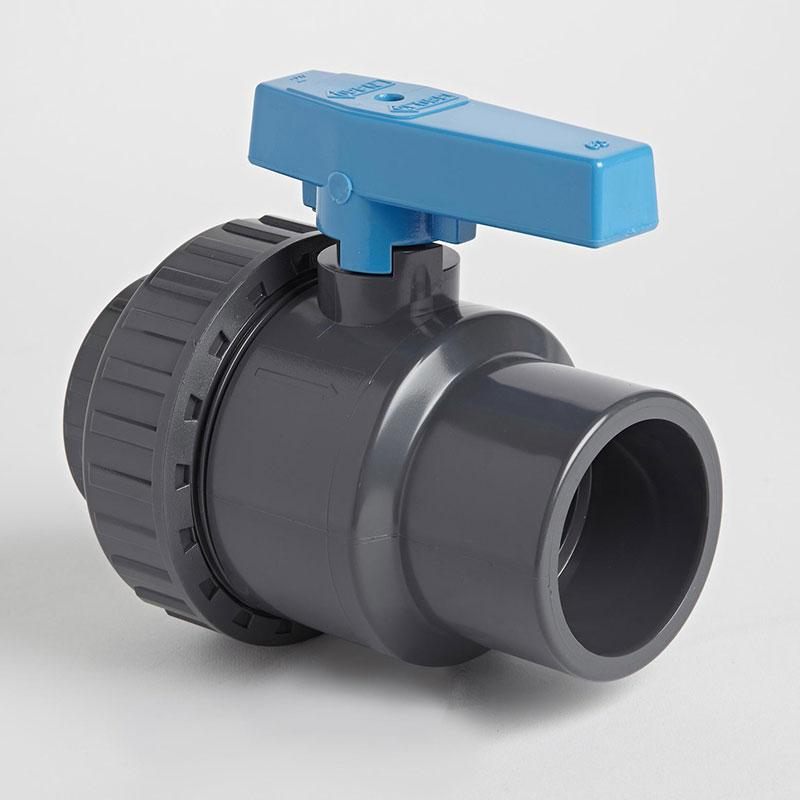 PVC Single Union Inch Standard Ball Valve | Plastic Pipe Valves