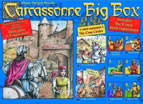 Carcassone: Big Box - $90