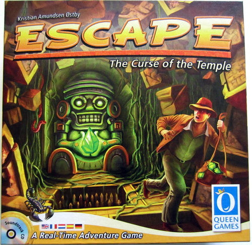 Escape from the Cursed Temple - $60.00
