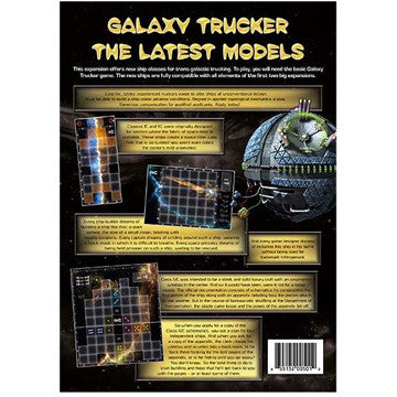 Galaxy Trucker: Latest Models - $16.50
