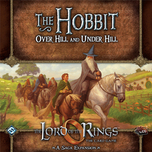 Lord of the Rings LCG: The Hobbit, Over Hill and Under Hill - $35.00