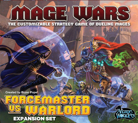 Mage Wars: Forcemaster vs. Warlord -$32.50