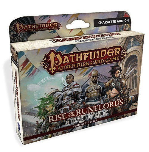 Pathfinder: Rise of the Runelords, Character Add on Deck- $18.50