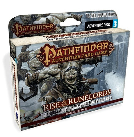 Pathfinder: Rise of the Runelords, Hook Mountain Massacre Expansion Deck- $18.50