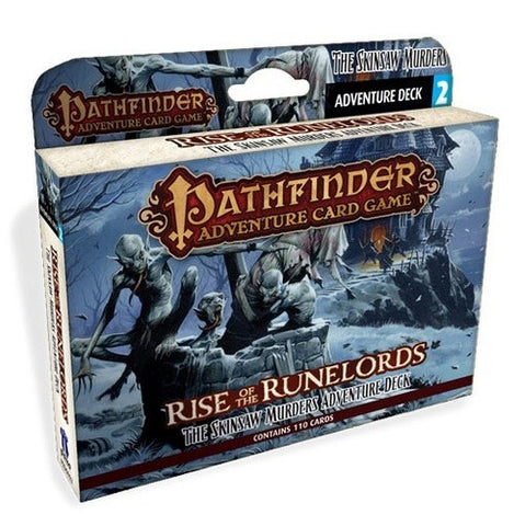 Pathfinder: Rise of the Runelords, Skinsaw Murders Expansion Deck- $18.50