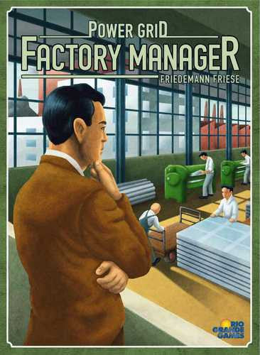 Power Grid: Factory Manager - $36.50
