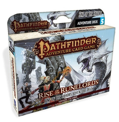Pathfinder: Rise of the Runelords, Sins of the Saviors, Expansion Deck- $18.50