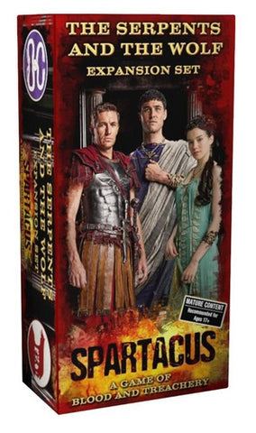 Spartacus: Serpents and the Wolf - $22.00