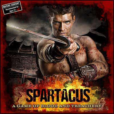Spartacus: A Game of Blood and Treachery $32.00