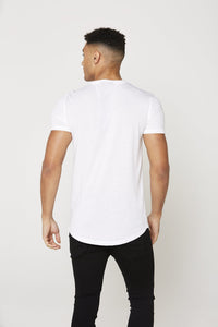 flash-price - Seek Mens 'Central' T Shirt - White - Seek - Tops