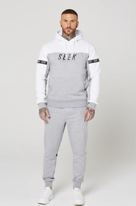 MITCHEL Full Tracksuit - Grey