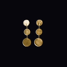 Load image into Gallery viewer, THE CIRCLES DROP EARRINGS