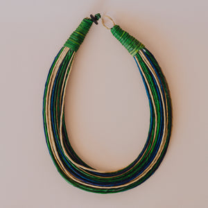 SWAHILI GREEN NECKLACE