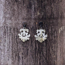 Load image into Gallery viewer, HORN CHANDELIER EARRINGS