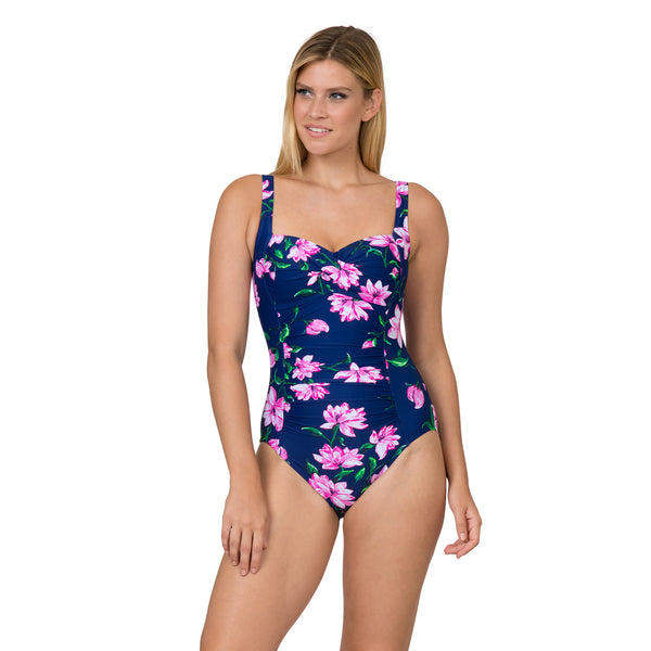 Sol Collective Women's Midnight Bloom 1 Piece Swimsuit