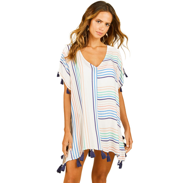 Surf Gypsy Candy Stripe Cover Up
