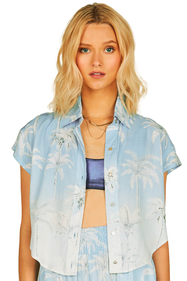 Surf Gypsy Hawaiian Print Shirt