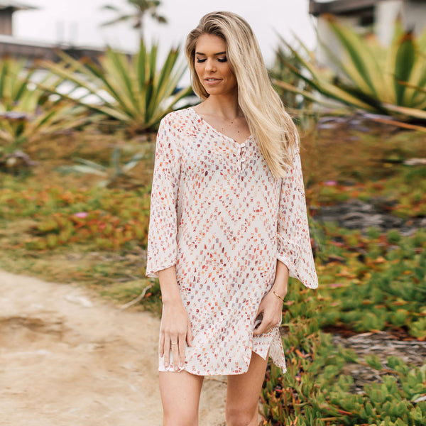 J Valdi  3/4 Sleeved Tunic