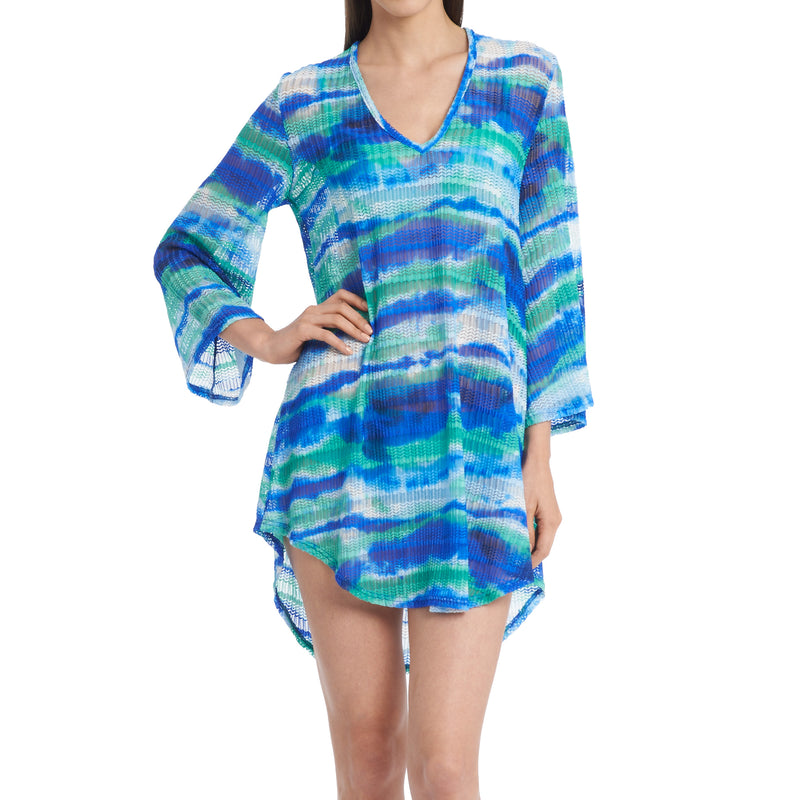 Jordan Taylor Women's Pullover Long Sleeved Cover-Up Dress