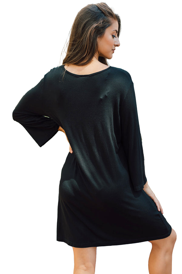 J Valdi LuxeJersey Sharkbite Pocket Tunic Plus CoverUp