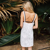 J Valdi Fern Terry Tank Style Cover-Up