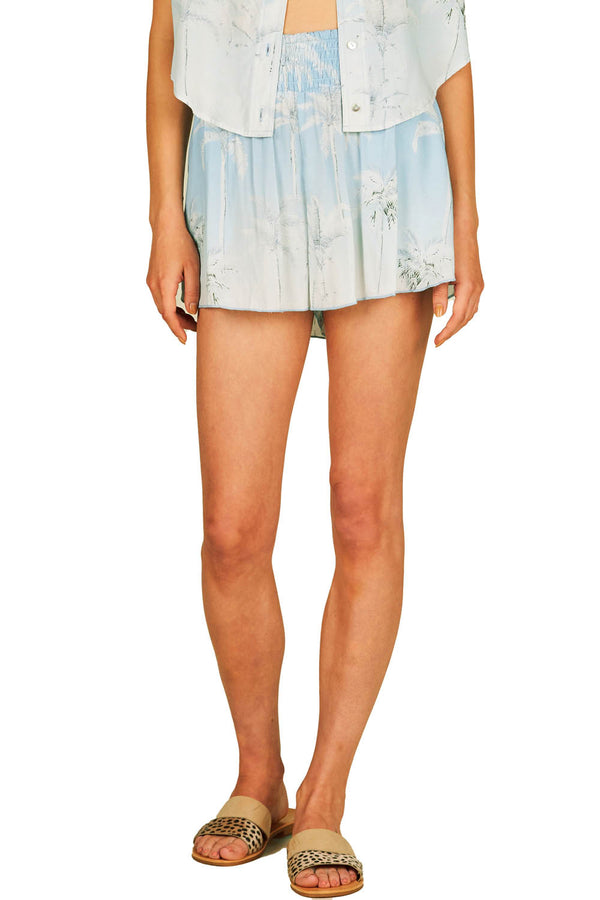 Surf Gypsy Hawaiian Print Short