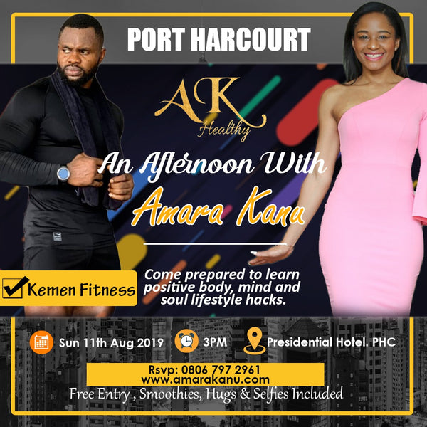 AN AFTERNOON WITH AMARA KANU (PORT HARCOURT)