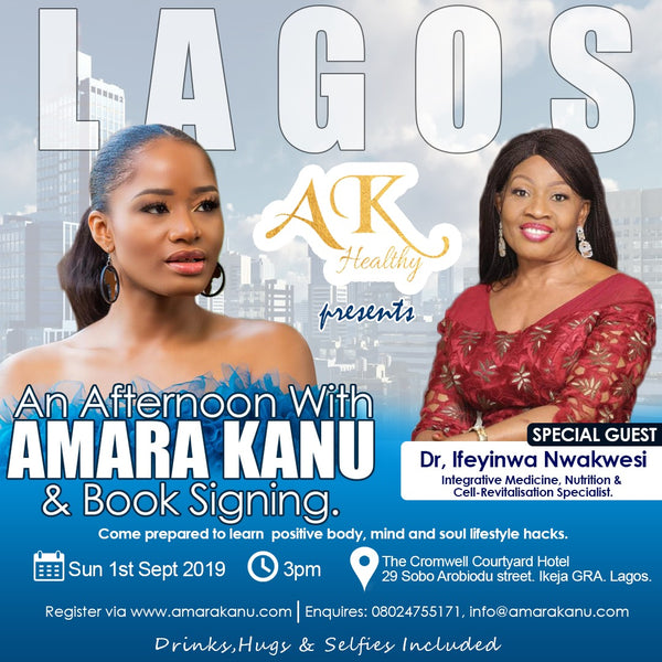 AN AFTERNOON WITH AMARA KANU (LAGOS, NIGERIA)