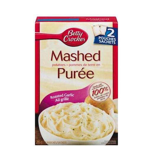 Betty Crocker Mashed Potato Roasted Garlic 215g