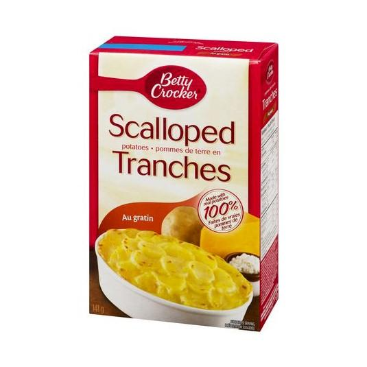 Betty Crocker Au Gratin Scalloped Potatoes 141g