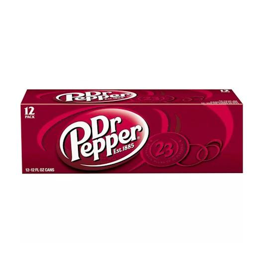 Dr. Pepper 12x355ml Cans