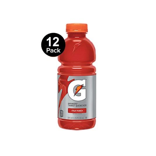 Gatorade Fruit Punch 12x591ml Bottles
