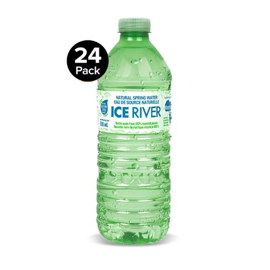 Ice River Springs Bottled Water 24x500ml