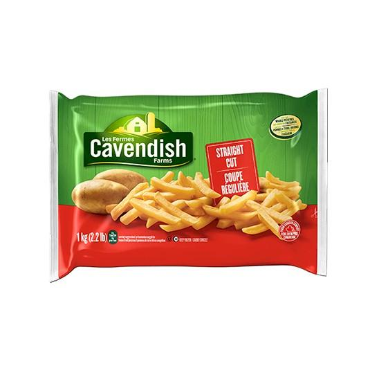 Cavendish Farms Classic Straight Cut Fries 1kg
