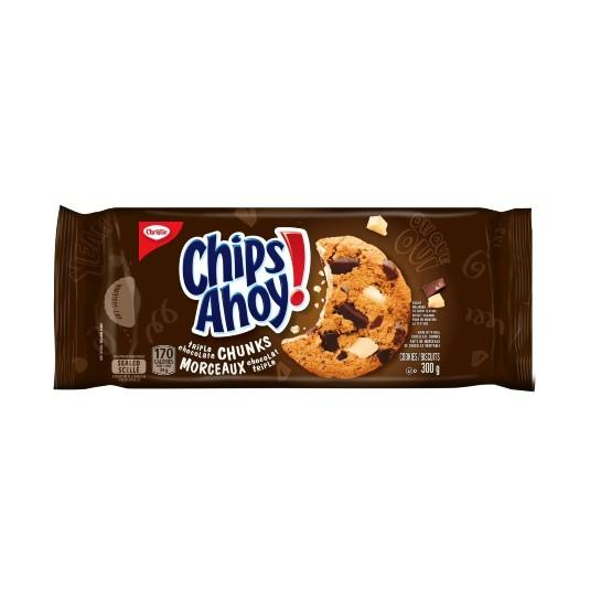 Christie Chips Ahoy Chunks Triple Chocolate 300g