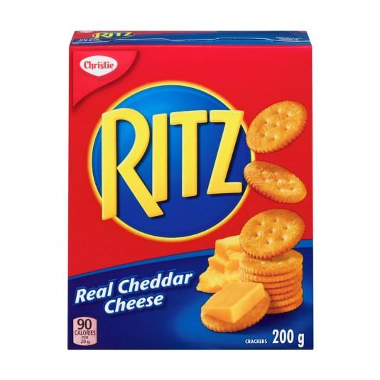 Christie Ritz Real Cheddar Cheese 200g