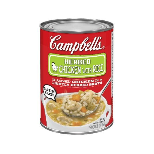 Campbell's Soup Ready-To-Serve Herb Chicken With Rice 540ml