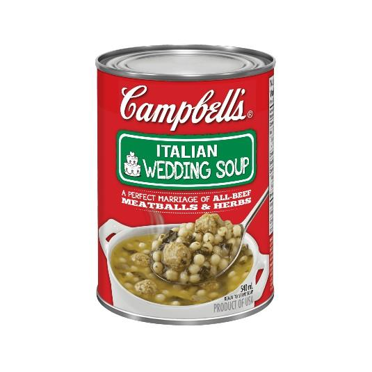 Campbells Soup Ready-To-Serve Italian Wedding 540ml