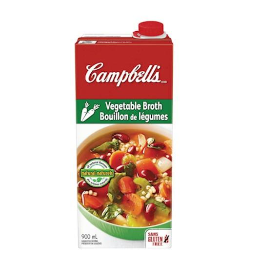 Campbell's Ready To Use Tetra Vegetable Broth 900ml