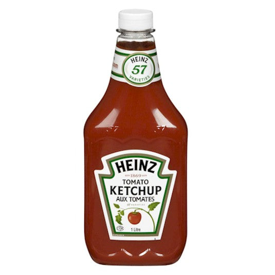 Heinz Ketchup Squeezeable 1L